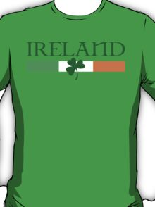 Ireland Flag, shamrock T-Shirt