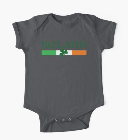 Ireland Flag, shamrock One Piece - Short Sleeve