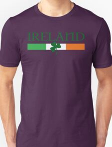 Ireland Flag, shamrock Unisex T-Shirt