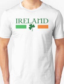 Ireland Flag, shamrock Unisex T-Shirt