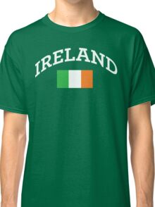 Arched Ireland with flag Classic T-Shirt