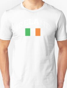 Arched Ireland with flag Unisex T-Shirt