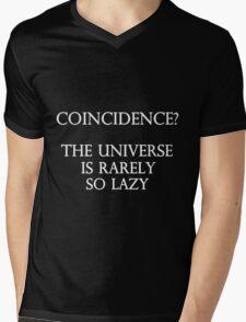 Coincidence Mens V-Neck T-Shirt