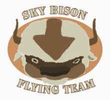 Sky Bison Flying Team Baby Tee