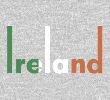 Ireland pop art Kids Tee