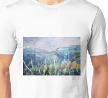 Imaginary landscape sketch. Unisex T-Shirt