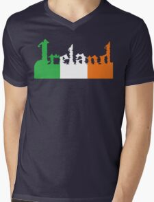 Saint Paddy's Day T-shirt Mens V-Neck T-Shirt