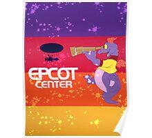Epcot Center Poster