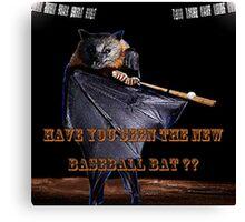 Baseball Bat Canvas Print