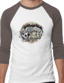 Aztec Deer Men's Baseball ¾ T-Shirt