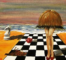hair and legs by Inese