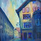 Fribourg street by Tania Richard