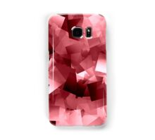 Between red and white is pink Samsung Galaxy Case/Skin
