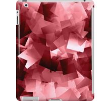 Between red and white is pink iPad Case/Skin
