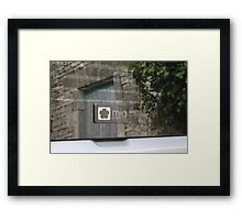 Mia Electric Framed Print