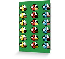 The Flappy Birds Greeting Card