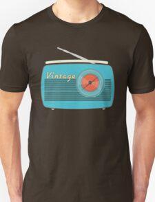 Vintage Radio-Take Me to The Beach T-Shirt