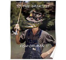 Fish-Or-Man? Poster