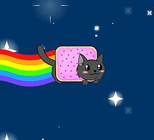Nyan Cat Redrawn by Kdanielss