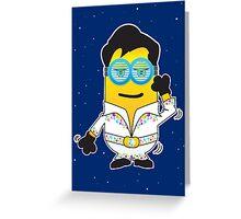 Disco minion Greeting Card