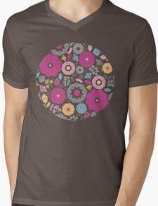 Flowers for you pattern Mens V-Neck T-Shirt