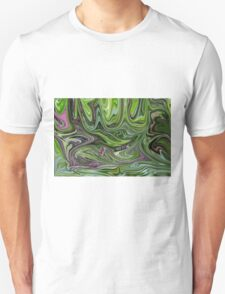 Abstract art from Nature - currents Unisex T-Shirt