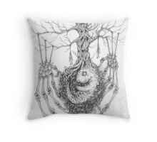 Organic Abortion Throw Pillow
