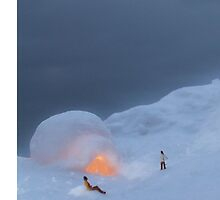 Snow Scene by Jack Hickling
