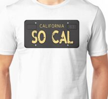 So Cal Old License Unisex T-Shirt
