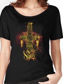shiny spaceship Women's Relaxed Fit T-Shirt