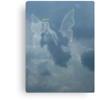 I Saw An Angel In The Sky Canvas Print