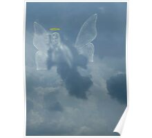 I Saw An Angel In The Sky Poster