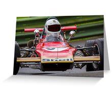 Classic Lotus racing car Greeting Card
