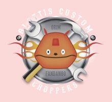Glottis Custom Choppers One Piece - Short Sleeve