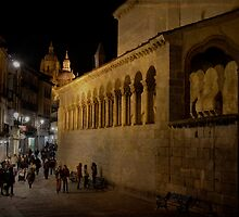 Segovia at night by rentedochan