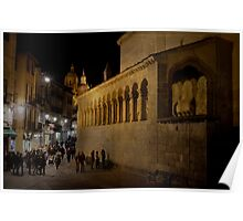 Segovia at night Poster