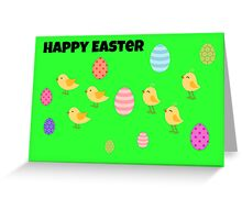 Happy Easter Card Greeting Card