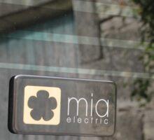 Mia Electric Sticker