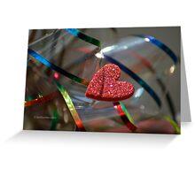 Ribbon Around My Heart Greeting Card