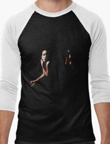 Nude Men's Baseball ¾ T-Shirt