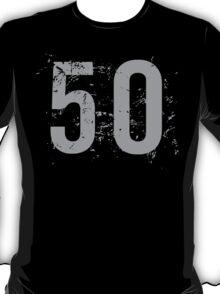 Cool Grunge 50th Birthday T-Shirt T-Shirt