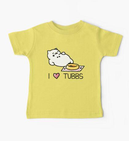 Neko Atsume - I Heart Tubbs Baby Tee
