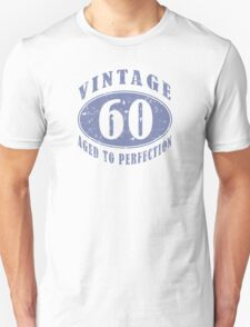 Funny Vintage 60th Birthday T-Shirt T-Shirt