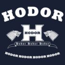 Hodor language school (white) by karlangas