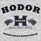 Hodor language school (blue) by karlangas