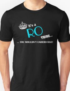 It's a RO thing, you wouldn't understand T-Shirt
