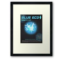 Blue Eco Framed Print