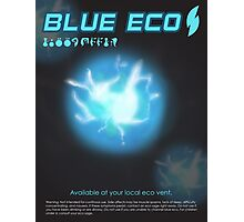 Blue Eco Photographic Print