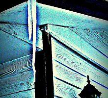 Unlikely Art--The Leaking Gutter Freezes by HazyDayz