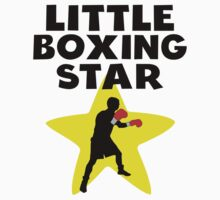 Little Boxing Star One Piece - Short Sleeve